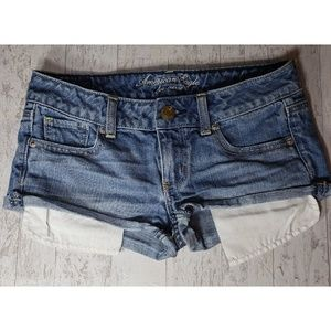 American Eagle Outfitters Jean Short Shorts Size 0